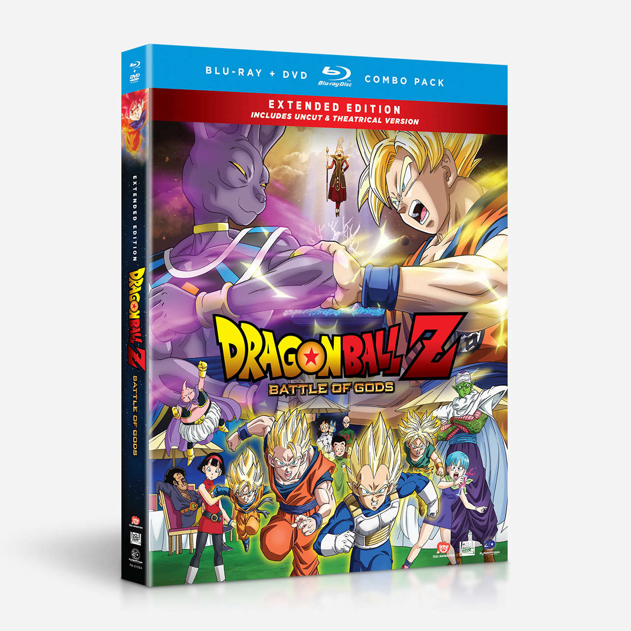 Battle of Gods (Extended Edition) home-video