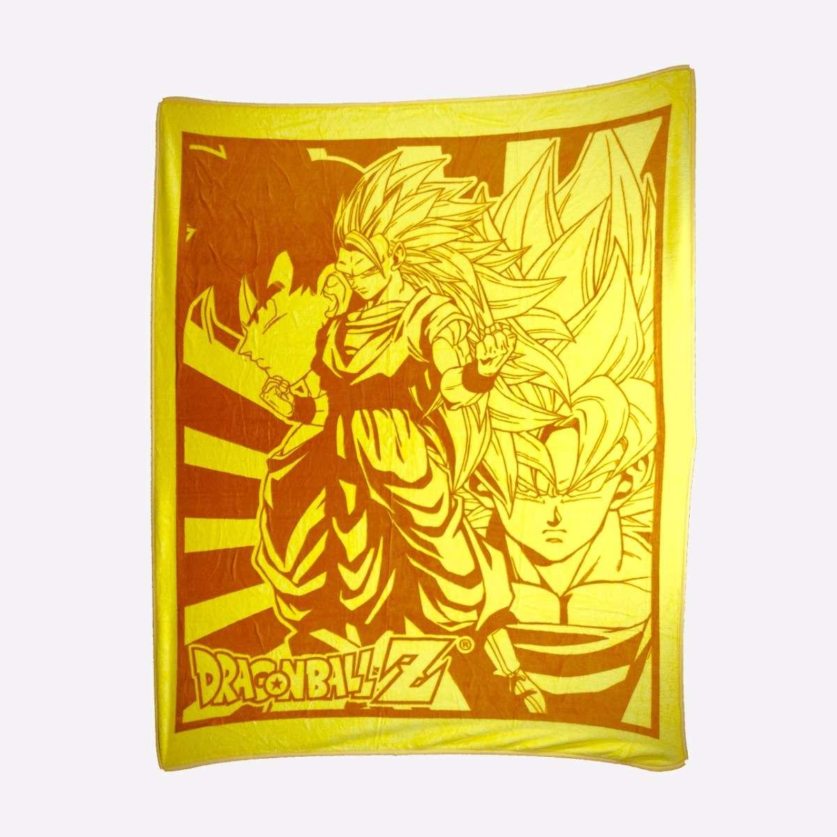 Goku Throw Blanket home-decor