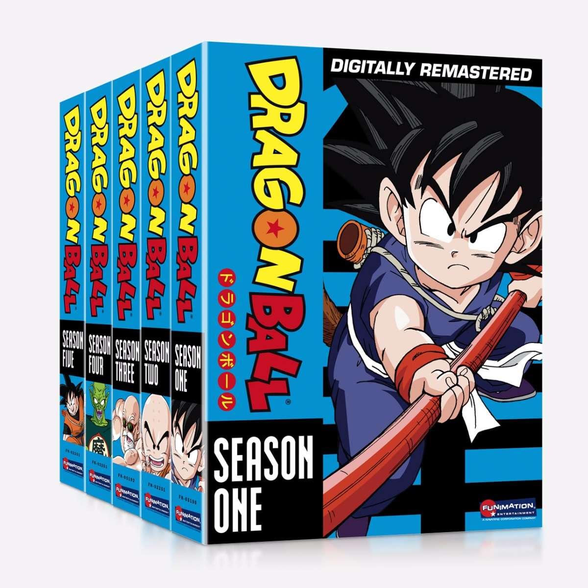 Dragon Ball - Season One - Season Five Bundle sale