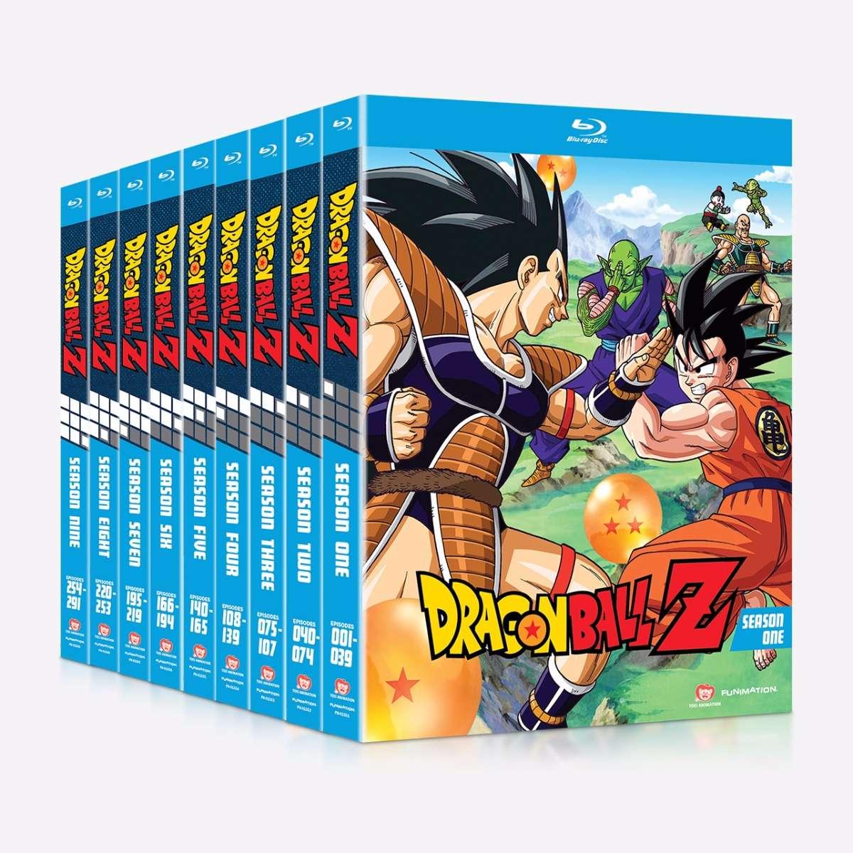 Dragon Ball Z - Season One - Season Nine Bundle home-video