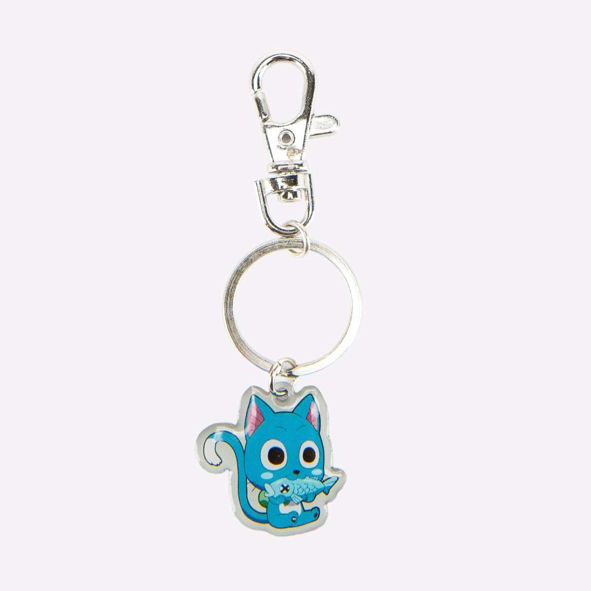 Happy Metal Keychain accessories