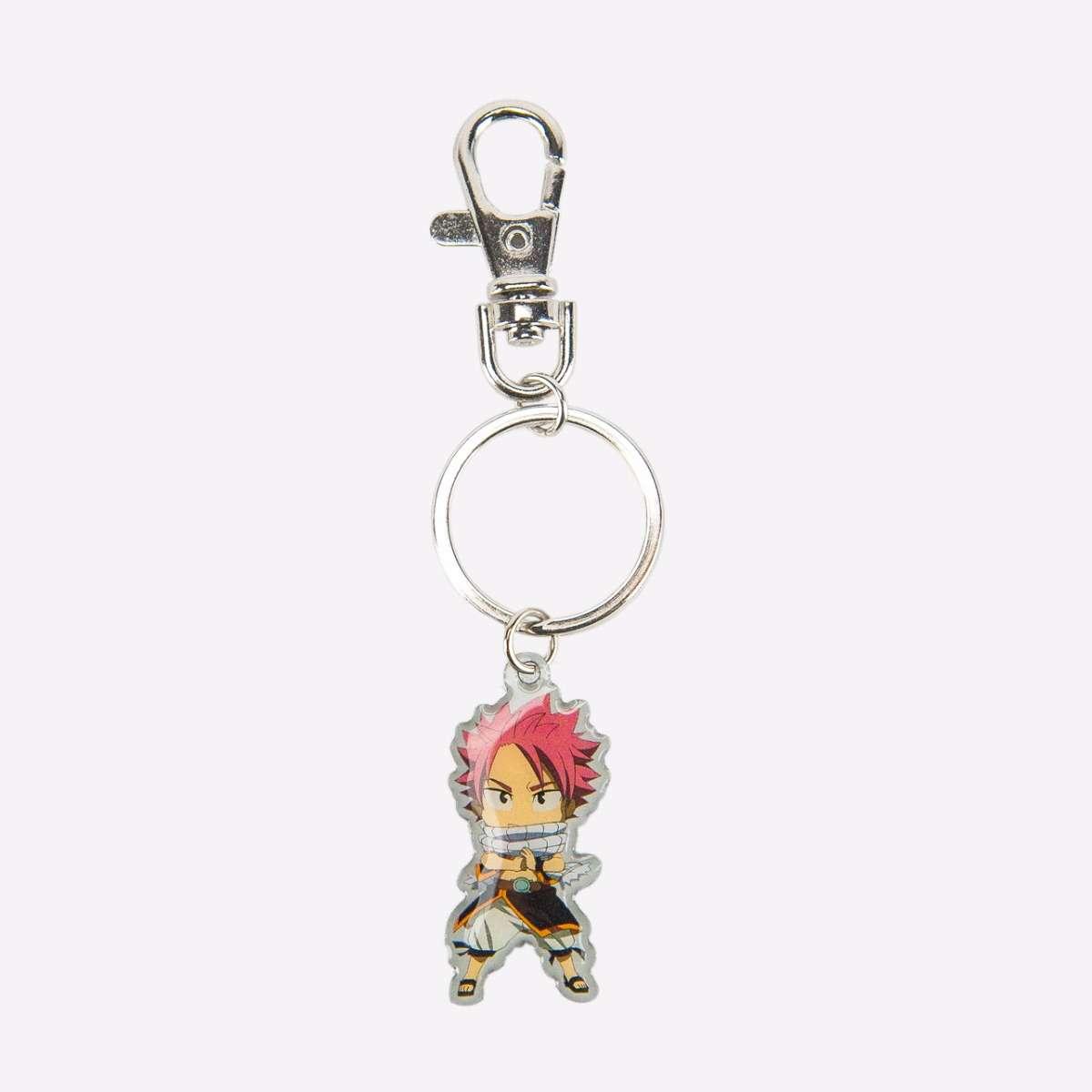 Natsu Metal Keychain accessories
