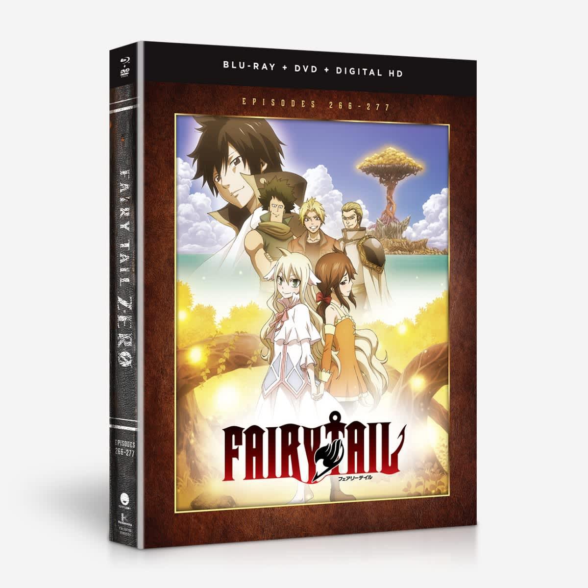 Fairy Tail - Zero - Season 8 - BD/DVD Combo home-video