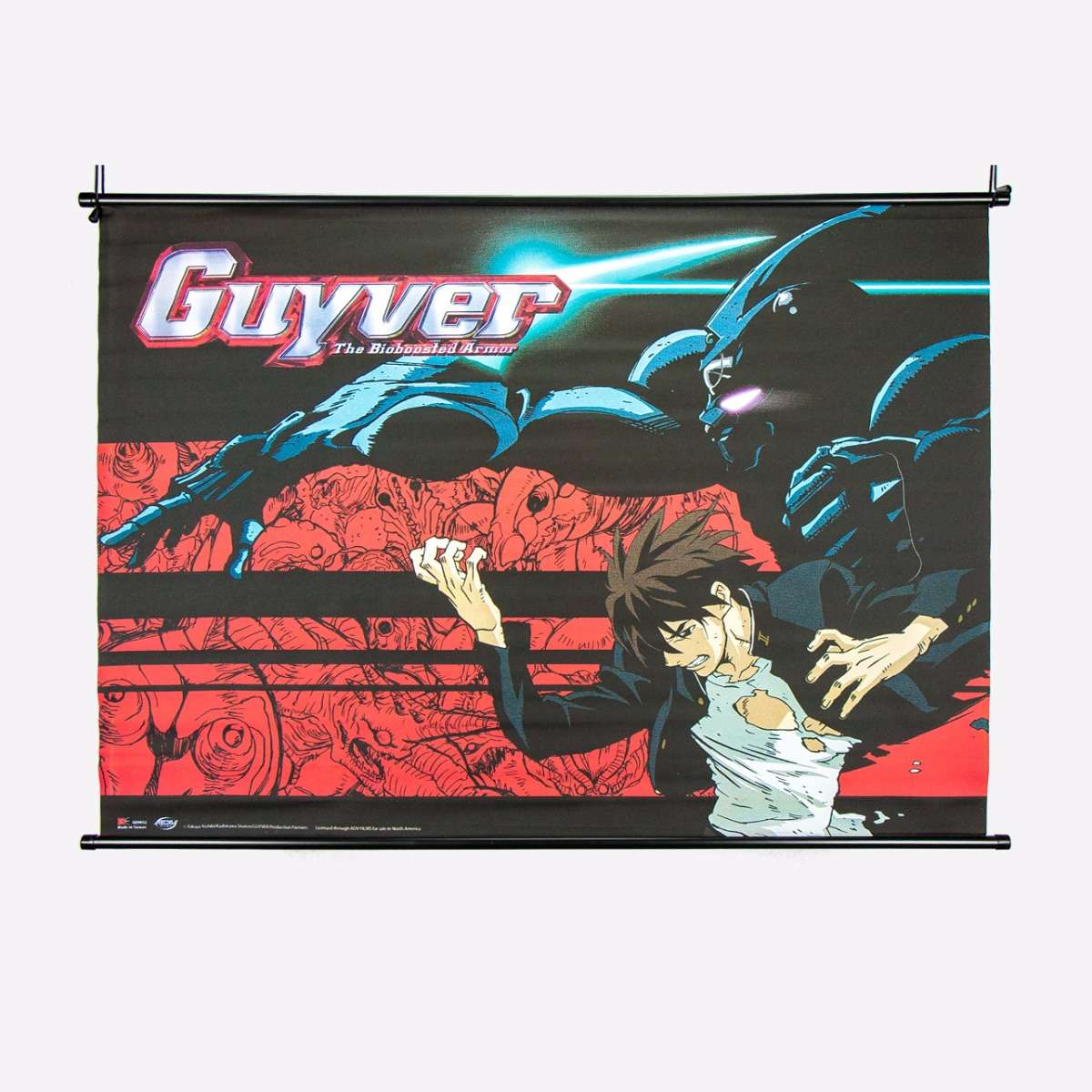 Fighting Stance Wall Scroll home-decor