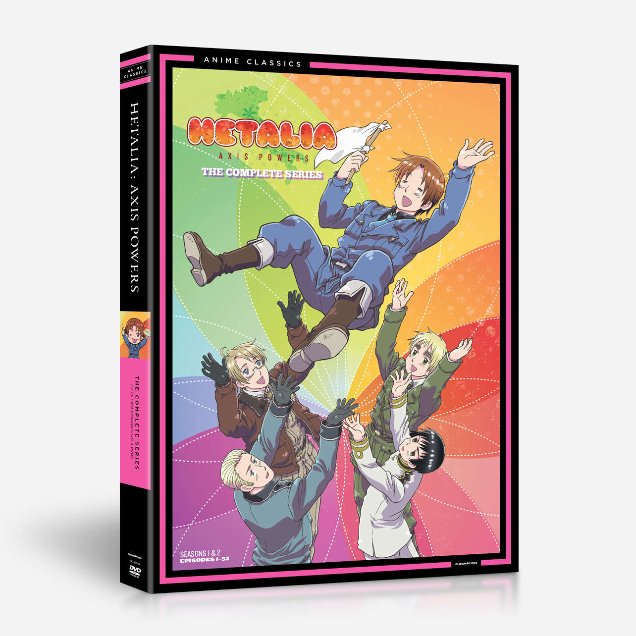 Axis Powers: The Complete Series - Anime Classics home-video