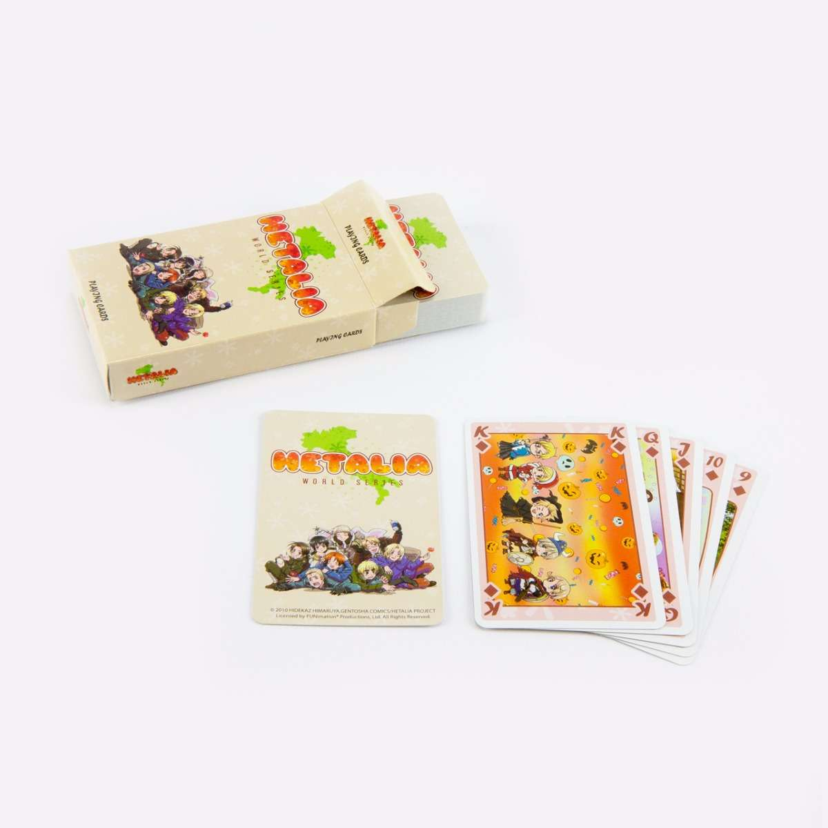 WS Playing Cards Toys & Games