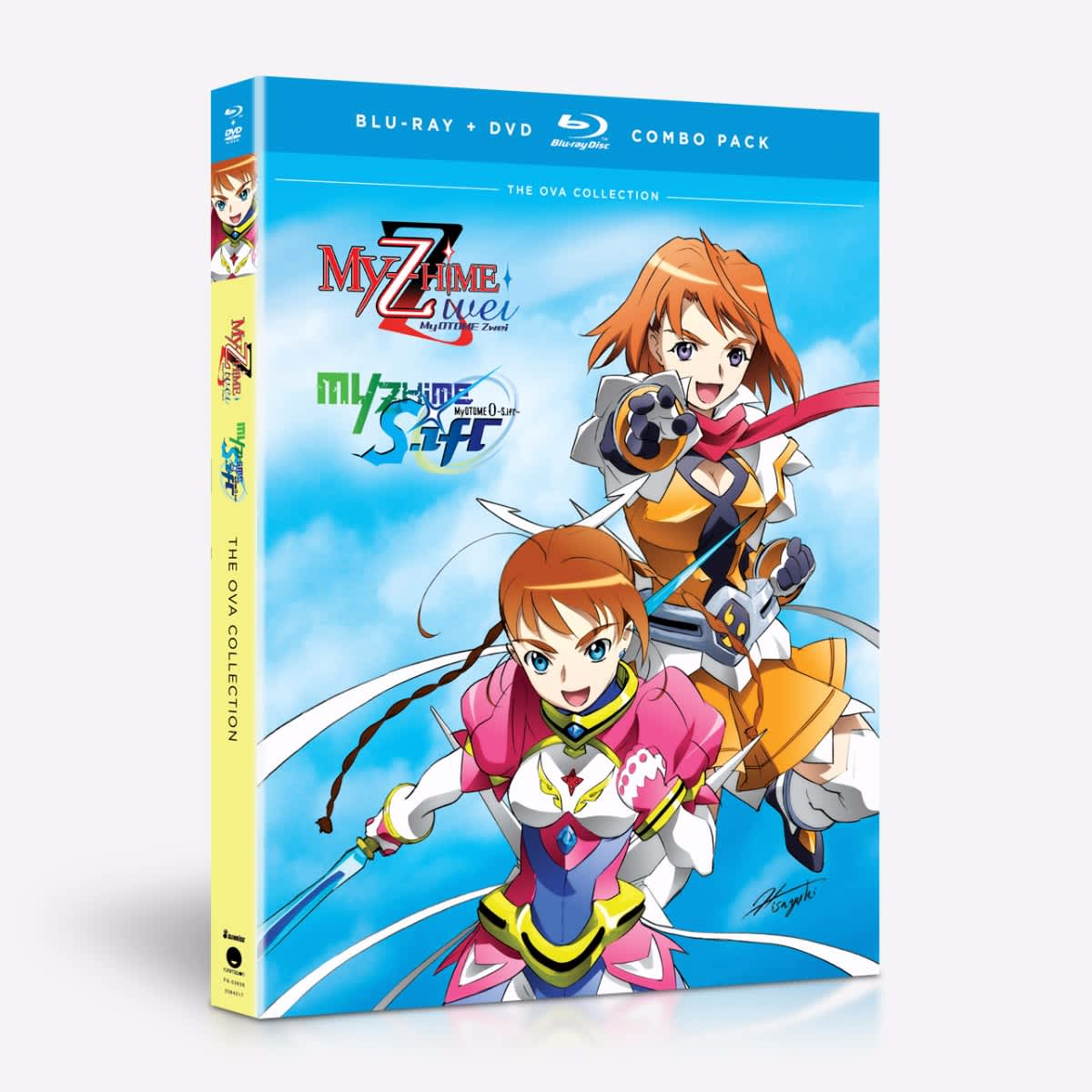 The OVA Collection – BD/DVD Combo home-video