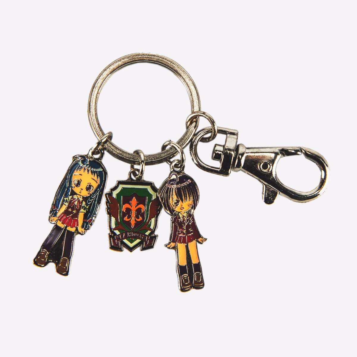 Yue & Nodoka Metal Keychain Accessories