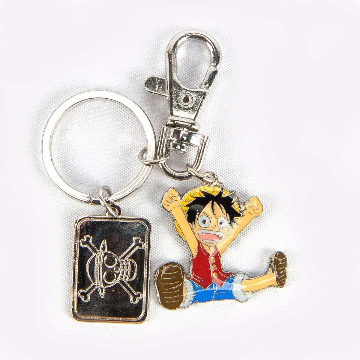 Luffy Metal Keychain accessories
