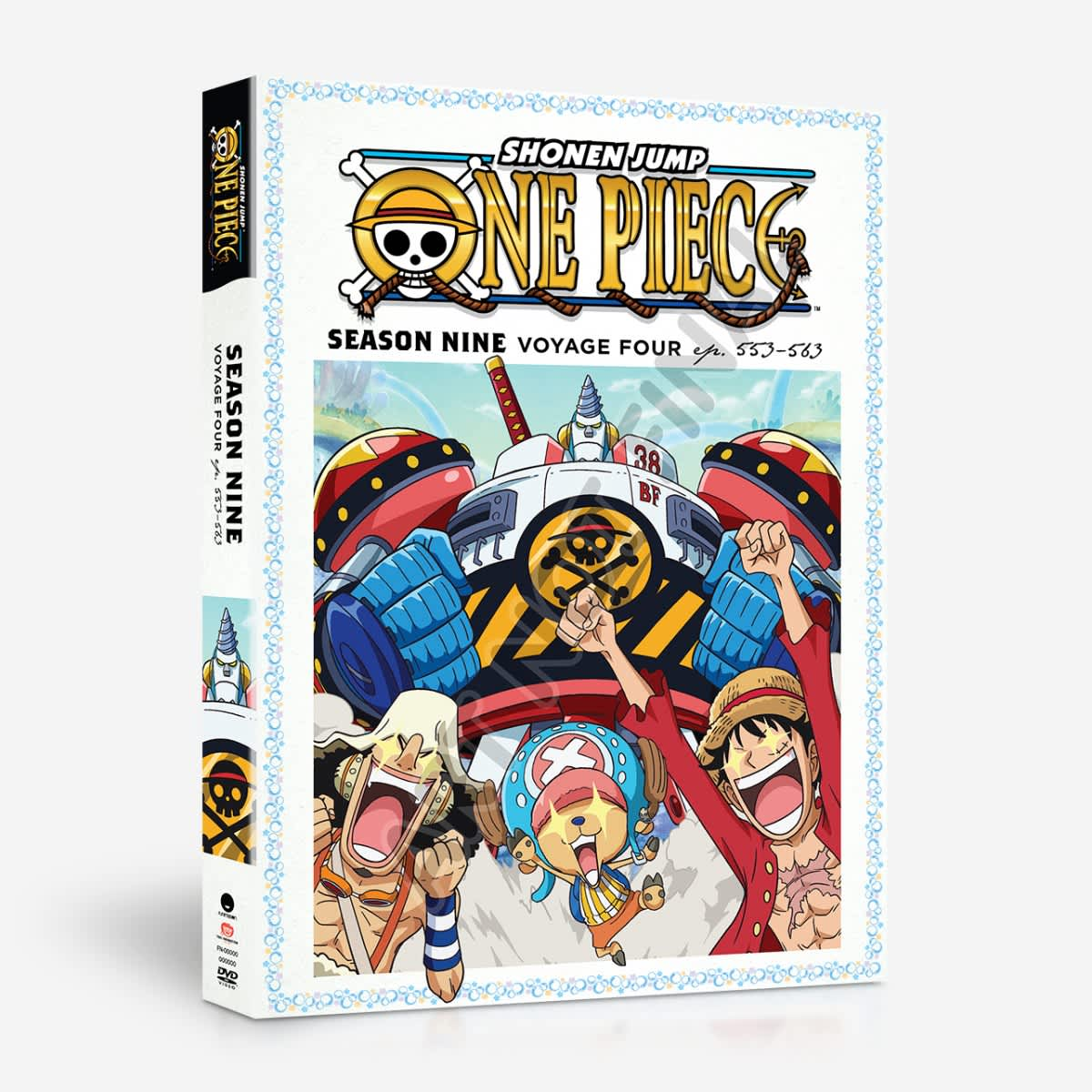 Season Nine, Voyage Four - DVD home-video
