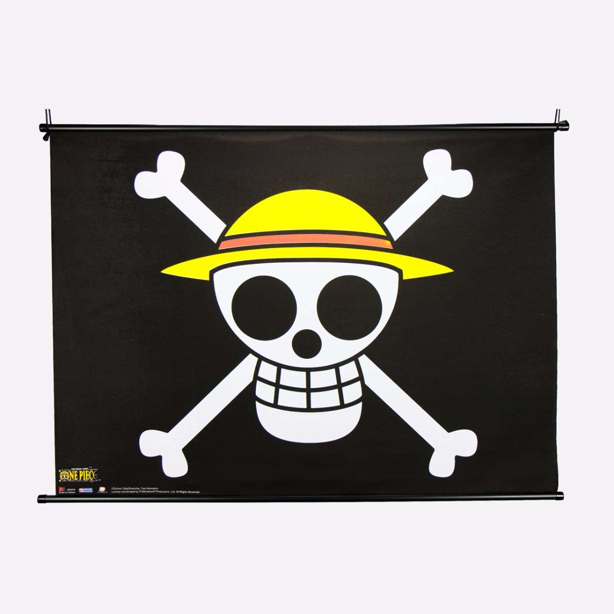 The Straw Hat Pirates Flag Wall Scroll home-decor