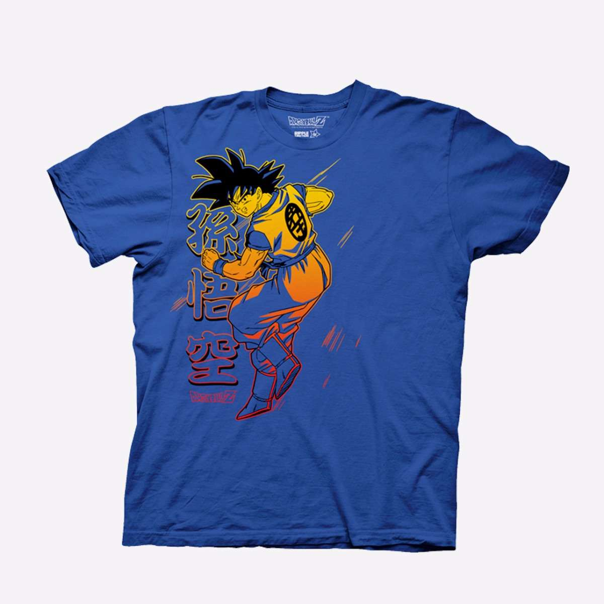 Goku Blue T-shirt apparel