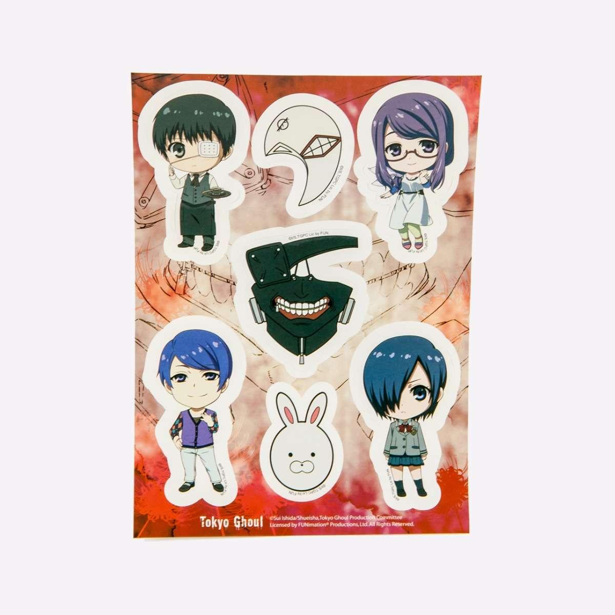 Group SD & Mask Sticker Set home-decor
