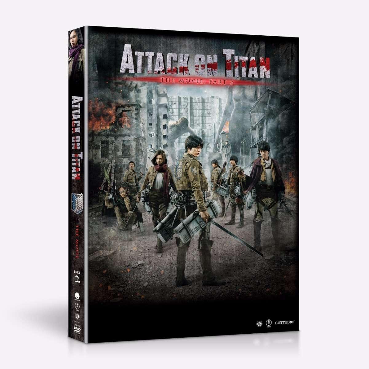 Attack On Titan - Live Action Movie - Part 2 - DVD