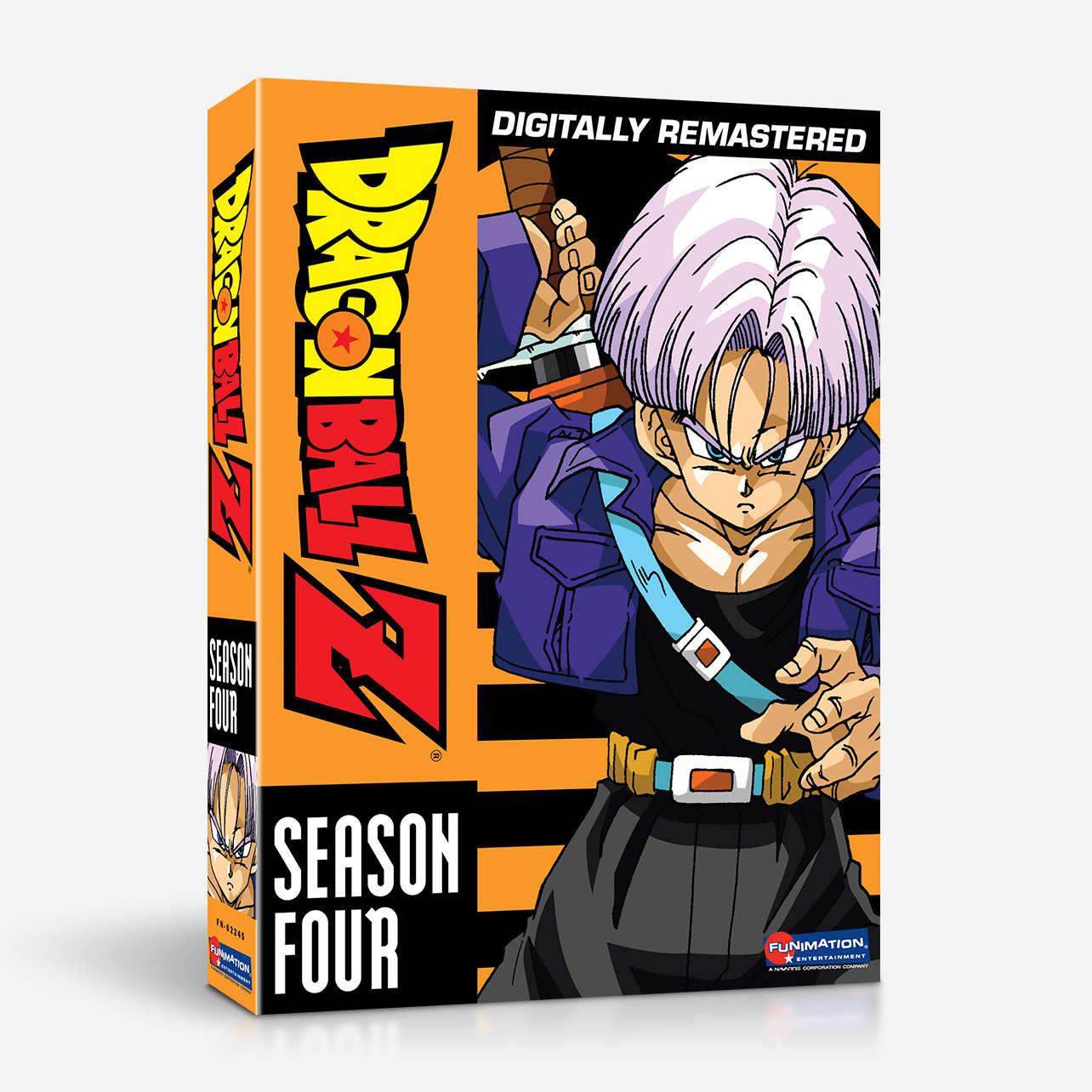 Dragon Ball Z: Season Four (Blu-ray) | Dragon Ball Wiki ...