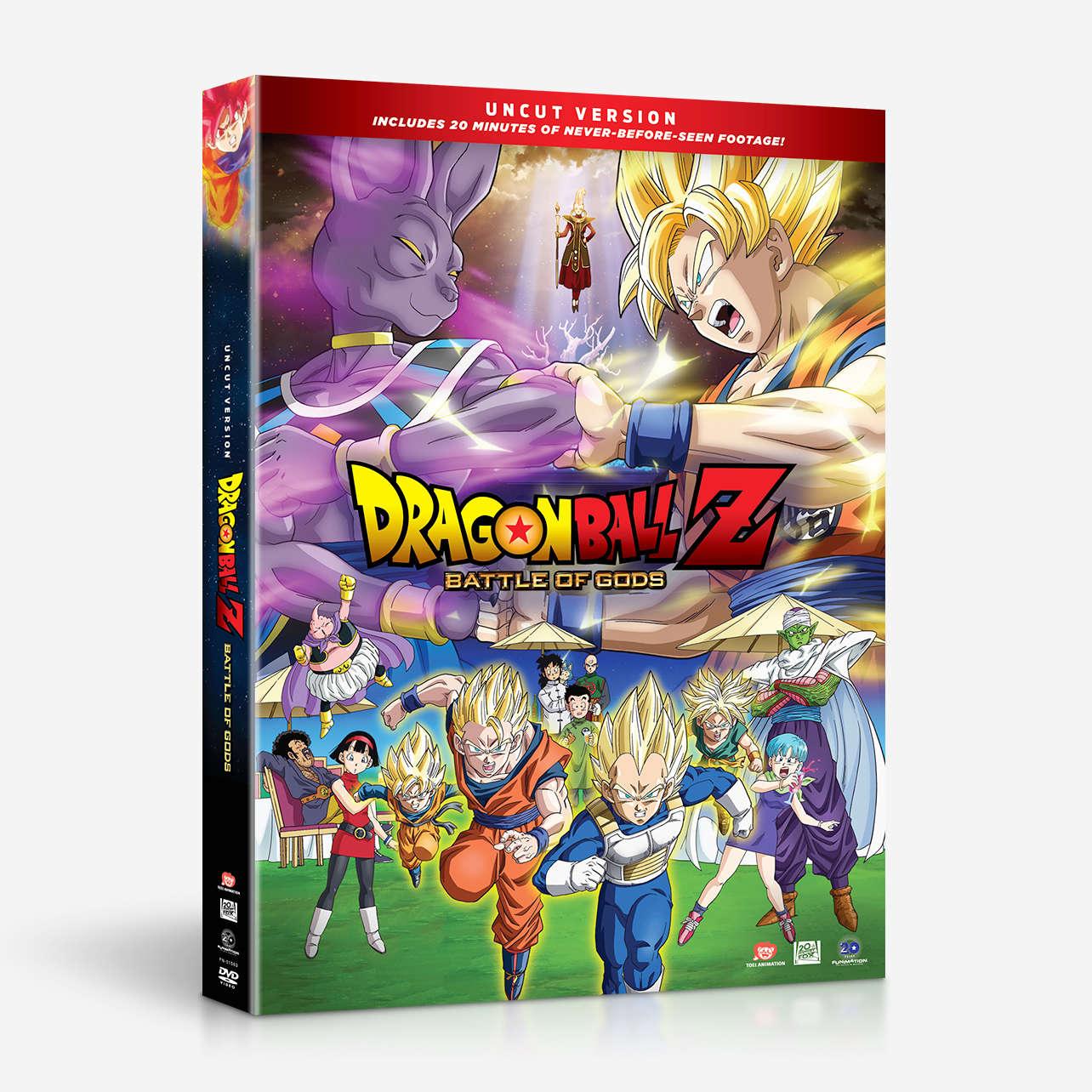 dragon ball z battle of gods deutsch dvd
