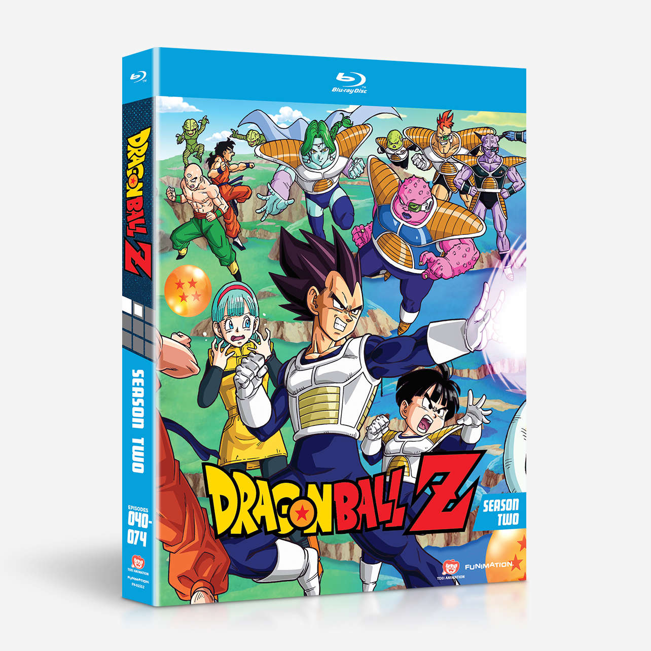 dragon ball z season two home video. Black Bedroom Furniture Sets. Home Design Ideas