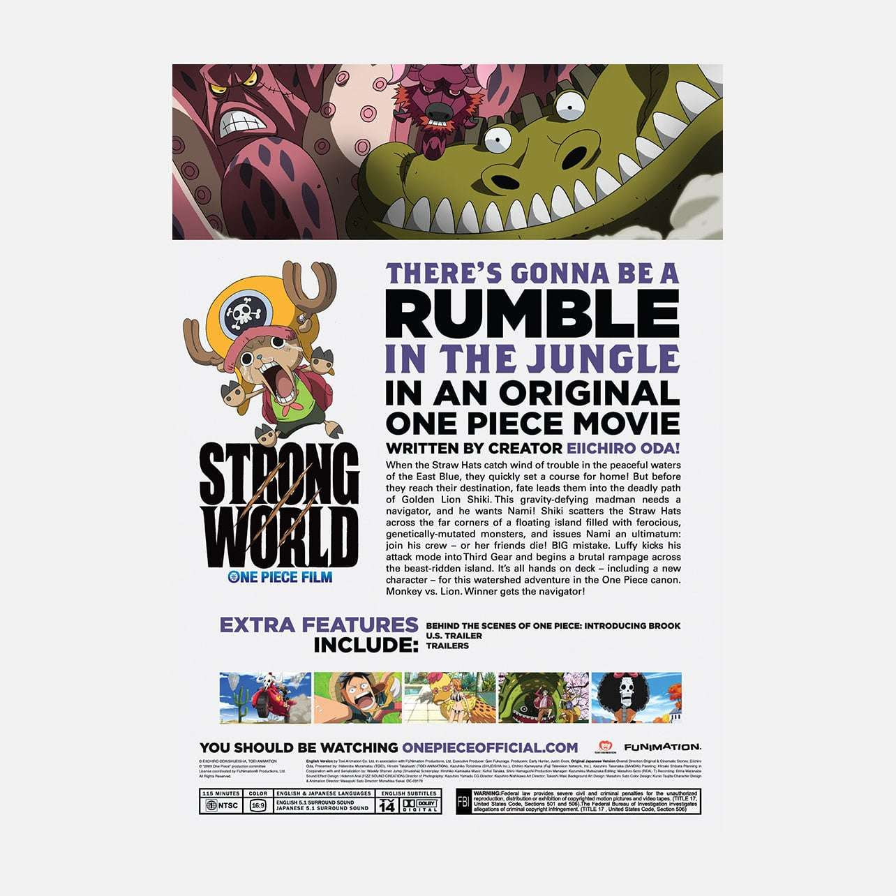 One Piece - Strong World - Movie
