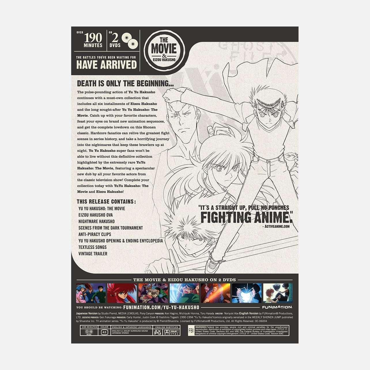 Yu Yu Hakusho - The Movie & Eizou Hakusho OVA