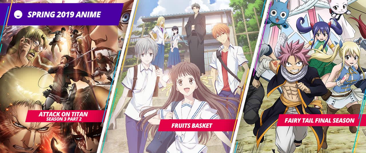 anime simulcast spring 2019