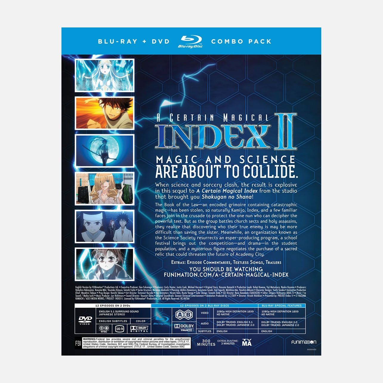 Certain magical index season two in stock toma and index are back in