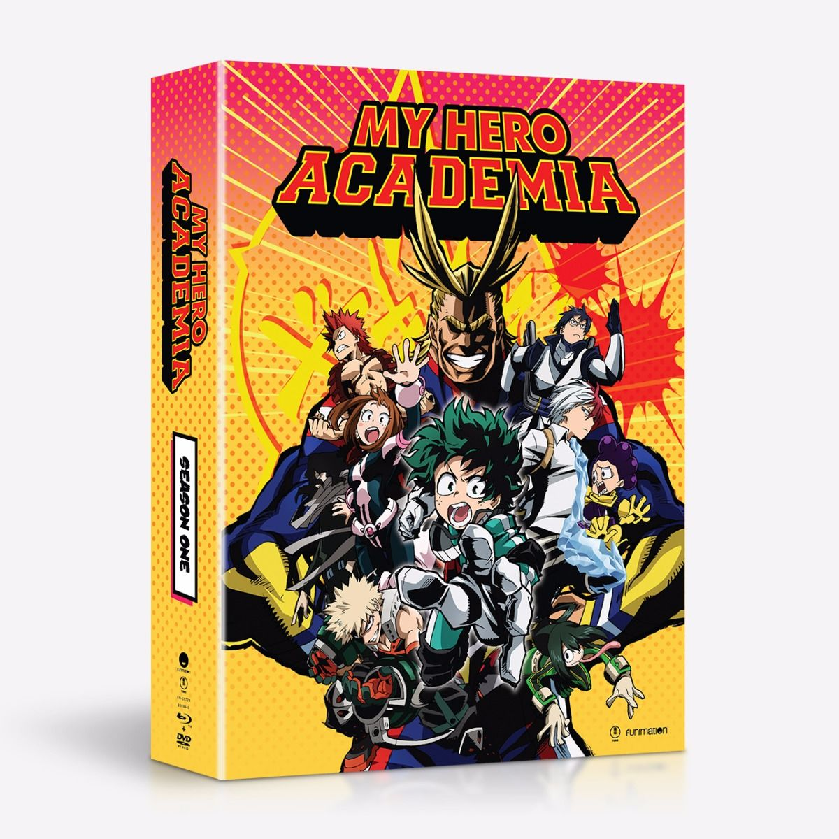 My Hero Academia Heroes: Funimation Store February, March, And April 2017 Blu-ray