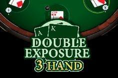 3 Hand Blackjack Double Exposure