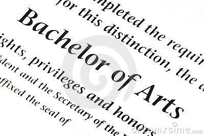 B. A. (Bachelor of Arts)
