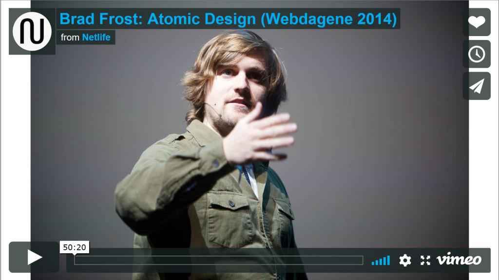 Atomic Design Video