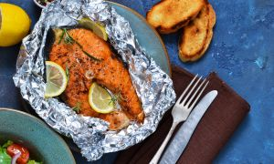Fish Fillets Baked in Foil Recipe