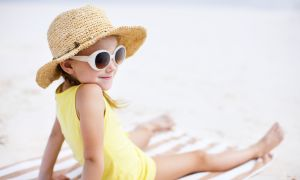 Sunglasses as Important as Sunscreen for Kids