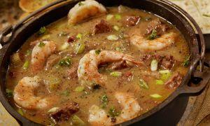 Jambalaya with Shrimp and Andouille Sausage Recipe
