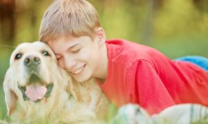 Some Stressed Kids do Better with Pets