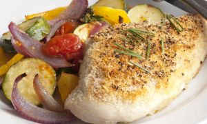 Grilled Chicken and Ratatouille Recipe