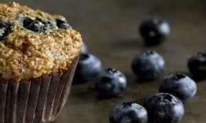 Low-Fat Blueberry Bran Muffin Recipe