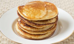 Maple, Walnut and Flaxseed Pancakes Recipe