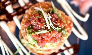Mexican Tuna Tostada Recipe