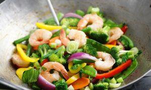 Spicy Shrimp and Vegetable Stir-Fry Recipe