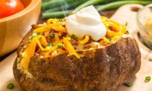 Twice-Baked Cheesy Potatoes Recipe