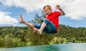 Help Kids Spring into Summer: Trampoline Safety