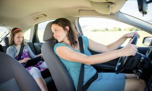 The Latest Road Risk? Parents Who Drive Distracted