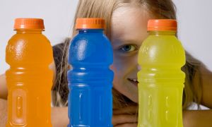 Keep Kids Away From Sports Drinks
