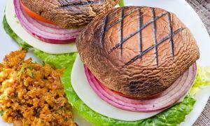 Grilled Portobello Mushroom Burger Recipe