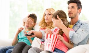 How to Manage Depression and Your Child's Exposure to Movie Violence