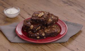 Healthy Walnut Brownie