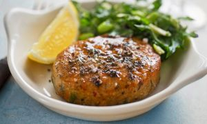 The Salmon Burger for Strength Building