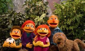 Sesame Street Introduces Viewers to Julia's Family for Autism Awareness Month