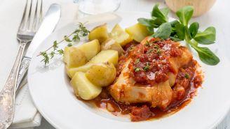 Baked Cod Italian Style Recipe