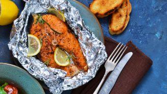 Fish Fillets Baked in Foil Recipe
