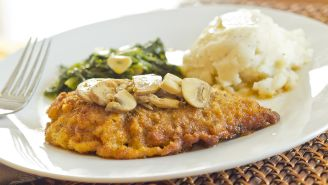 Low-Fat Chicken Marsala Recipe